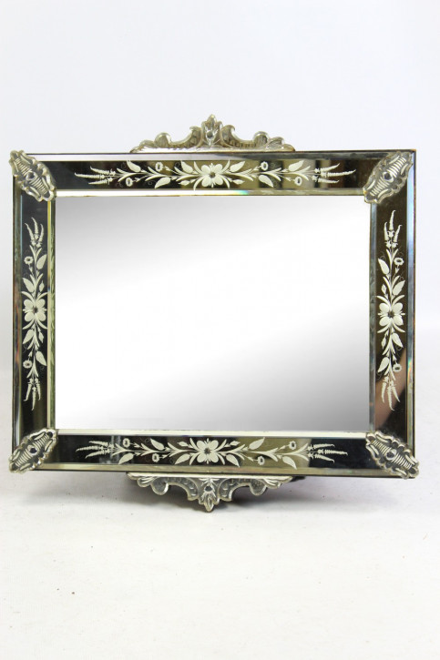 Antiker venezianischer Spiegel aus dem 19. Jahrhundert