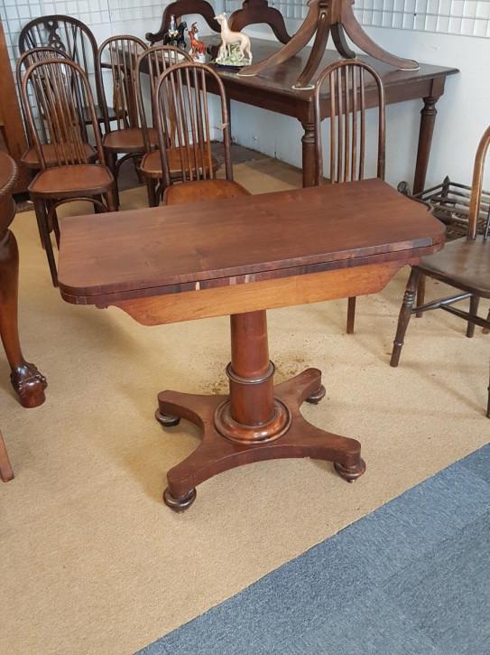 Antiker Games Table aus Palisander Massivholz 19.Jahrhundert