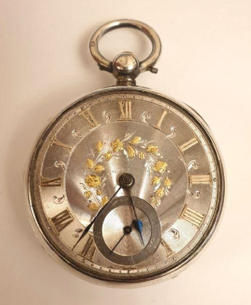 Antike englisch Taschenuhr von ca 1850