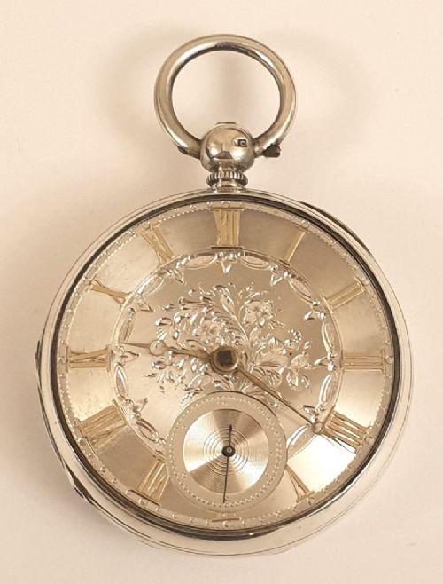 Antike englische Taschenuhr aus dem 19. Jahrhundert