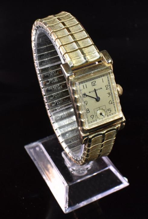 Antike Art Deco Herren Armbanduhr von Bulova
