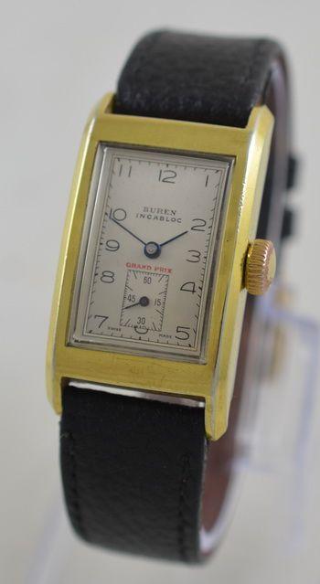 Antike Grand Prix Armbanduhr aus den 1930er Jahren