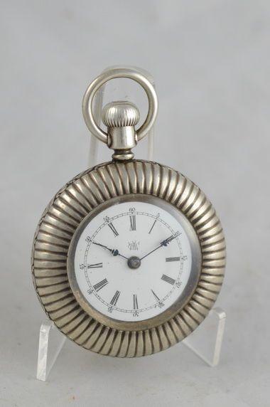 Antike Duplex Waterbury Taschenuhr