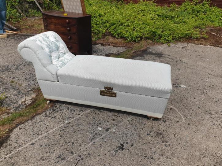 Antike Chaise Longue aus der späten viktorianischen Epoche
