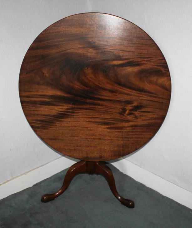 Antiker Beistelltisch/Occassional Table aus Mahagoni Massivholz 1930