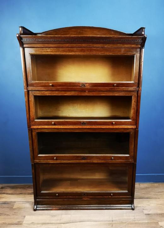 Antiker Eichenholz Bücherschrank im Globe Wernicke Stil