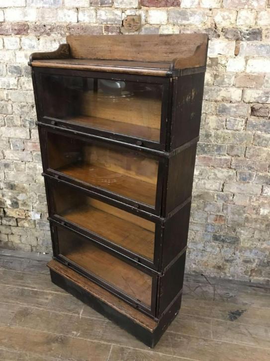 Antiker Eichenholz Bücherschrank von 1920