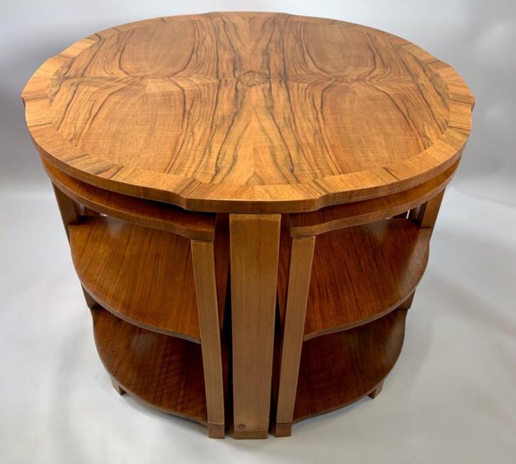 Antikes Art-Deco-Epstein-Tischset von ca 1930