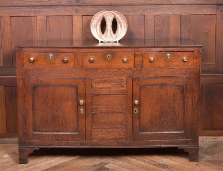 Antikes Sideboard aus Eichenholz