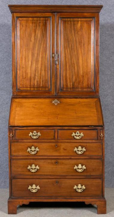George III Sekretär Original   Mahagoni Nussbaum  1840