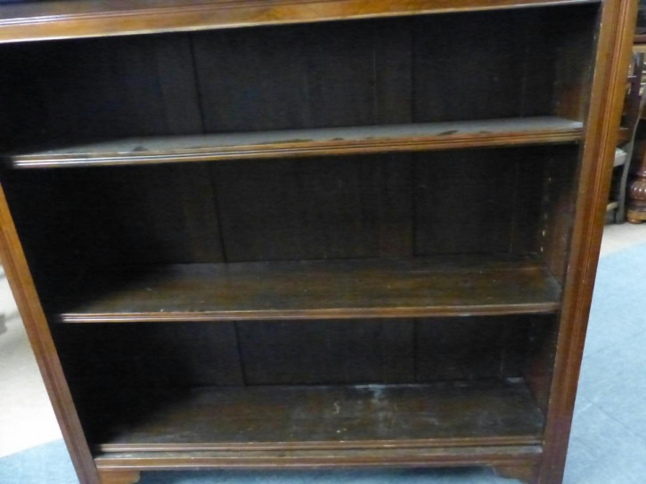 Edwardian Bücherregal Mahagony um 1890 Original