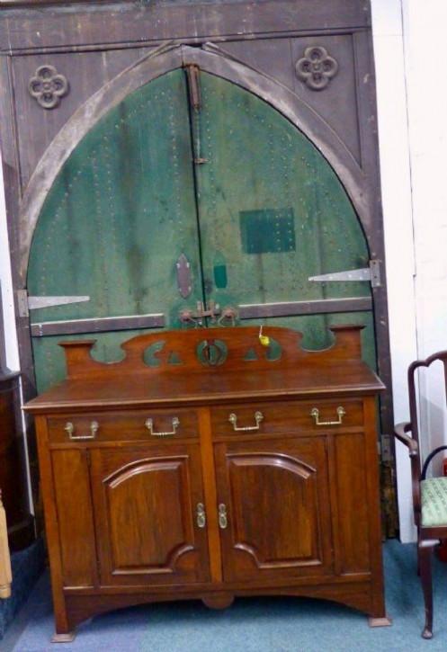 Antikes Sideboard aus Mahagoni Edwardian 1890