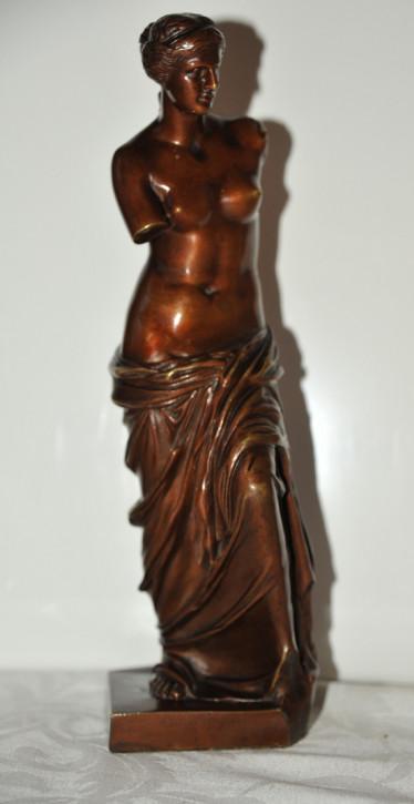 Französiche Bronzefigur der Venus De Milo von Sauvage von ca. 1880