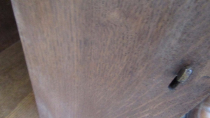 Herrlicher antiker kleiner Eichen Barschrank Heals edwardianisch 1890