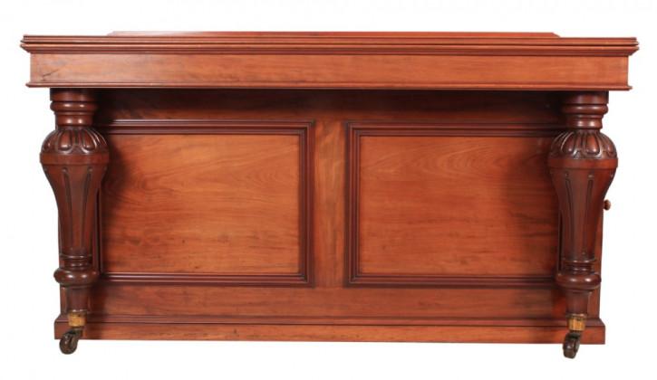 Fantastisches Antikes Englisches Viktorianisches Mahagoni Sideboard ca. 1860
