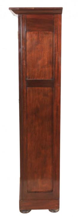 Original antiker englischer Nussbaum Kleiderschrank ca 1900
