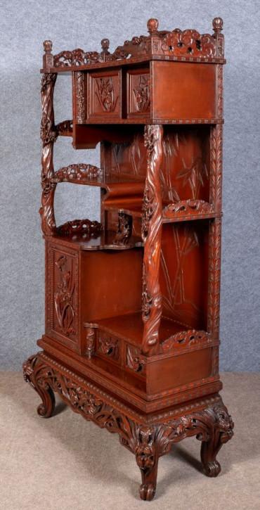 Japanischer Antiker Meiji Schrank ca 1900