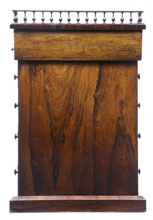 Regency Englischer Antiker Palisander Davenport Schreibtisch ca. 1820