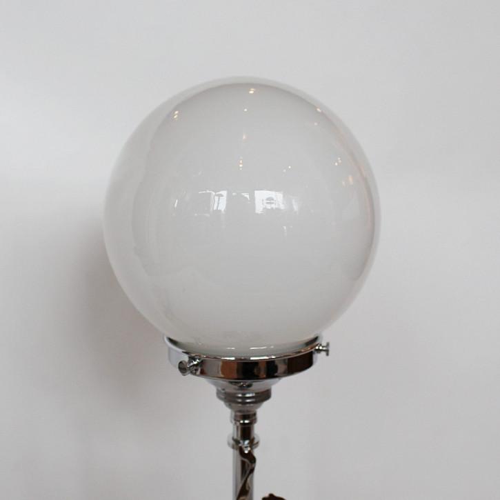 Art Deco Englische Antike Chrom Tischlampe ca. 1930