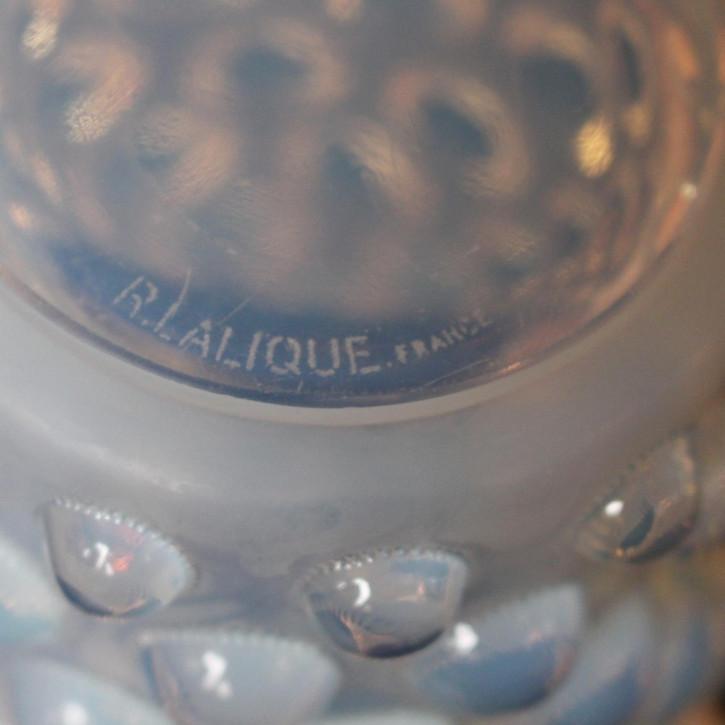 Französische Antike René Lalique Bammako Vase ca. 1930