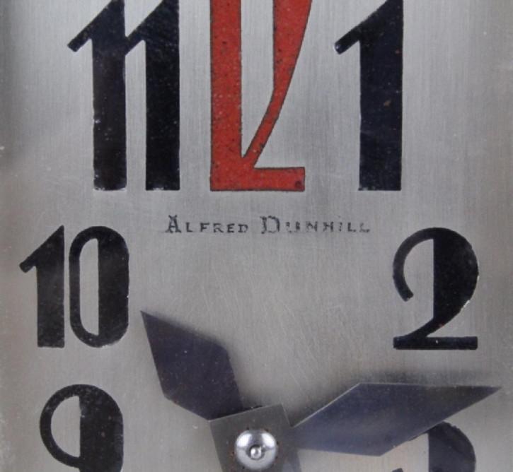 Englische Antike Art Deco Alfred Dunhill Pfeifenständer Uhr ca. 1930
