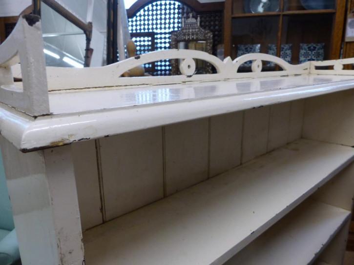 Englisches Antikes Paar bemalte Bücherregale ca. 19. JH.