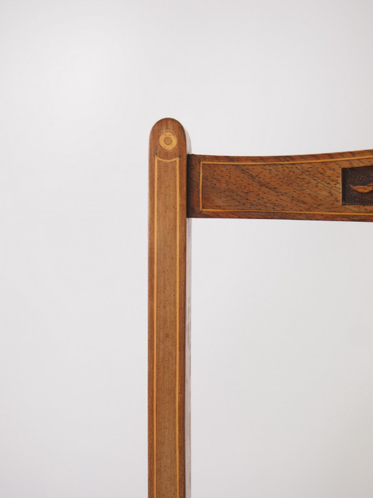Edwardianische Palisander Esszimmer Stühle antik ca 1890