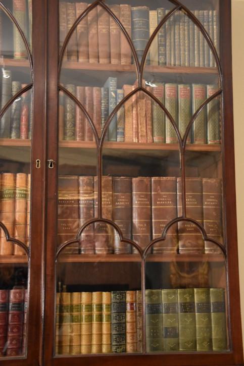 Regency Englischer Antiker Mahagoni Sekretär bureau bookcase ca. 1820