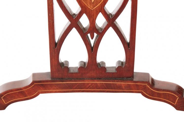 Edwardianischer Mahagoni Esszimmerstuhl antik ca 1890