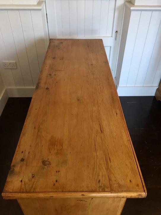 Antikes Massivholz Sideboard Kiefer original 19. Jh