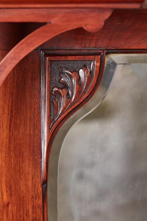 Antikes viktorianisches Nussbaum Sideboard englisch ca 1880