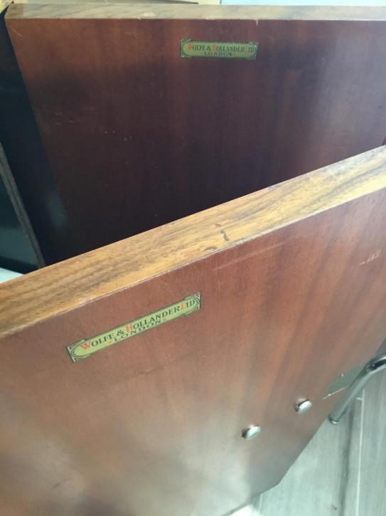 Antikes englisches Art Deco Sideboard Nussbaum ca 1930