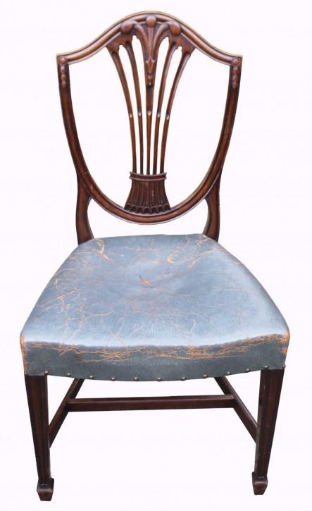 Antike Mahagoni Esszimmer Stühle englisch 19. Jh