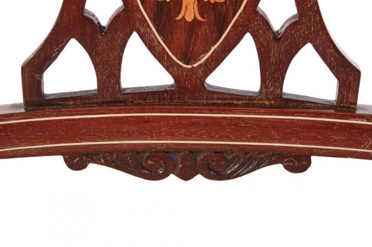 Edwardianisches Antikes Englisches Set Palisander Esszimmerstühlen ca. 1900