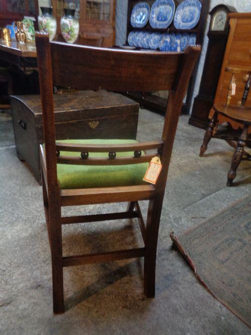 Antike viktorianische Mahagoni Esszimmer Stühle englisch ca 1850