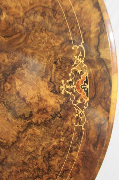 Antiker viktorianischer Nussbaum Esstisch englisch ca. 1850
