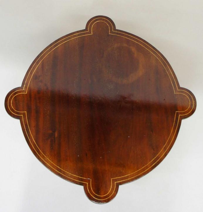 Edwardianischer original antiker Beistelltisch Mahagoni ca 1890