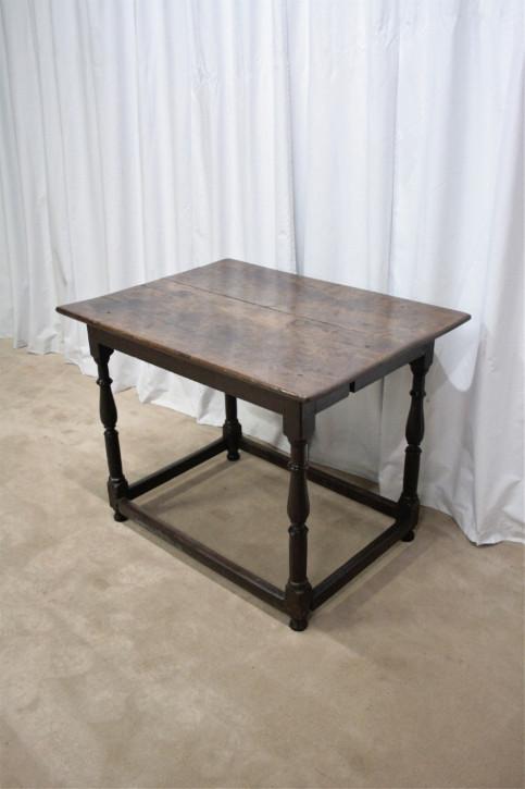 Antiker englischer Eichen Esstisch Küchentisch 19. Jh
