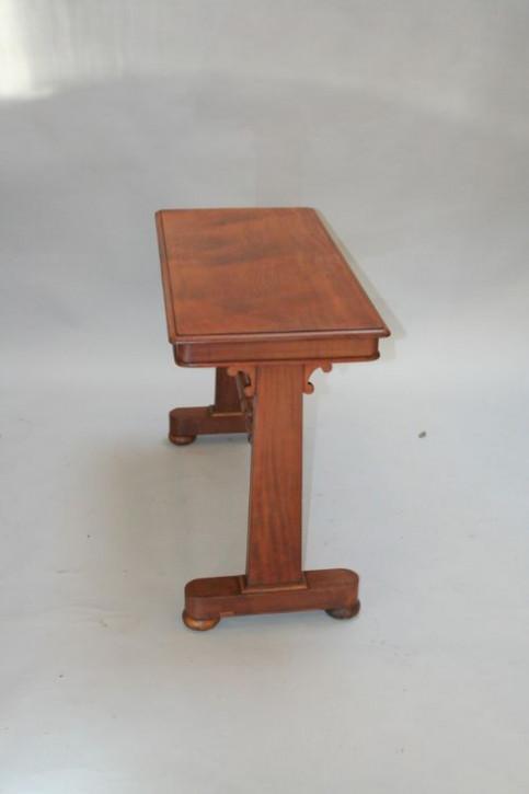 Viktorianischer Mahagoni Beistelltisch Lampentisch antik ca 1880