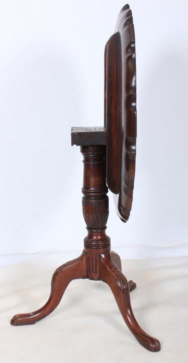 Antiker Mahagoni Esstisch original britischer 1740