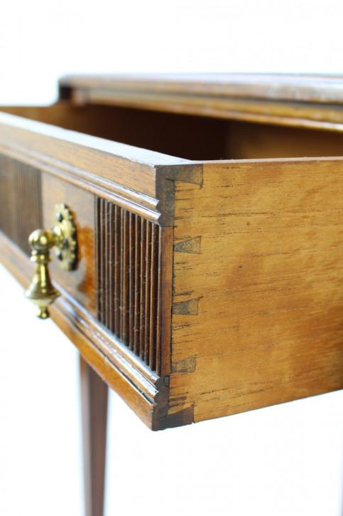 Edwardianischer Mahagoni Damen Schreibtisch original antik ca 1890