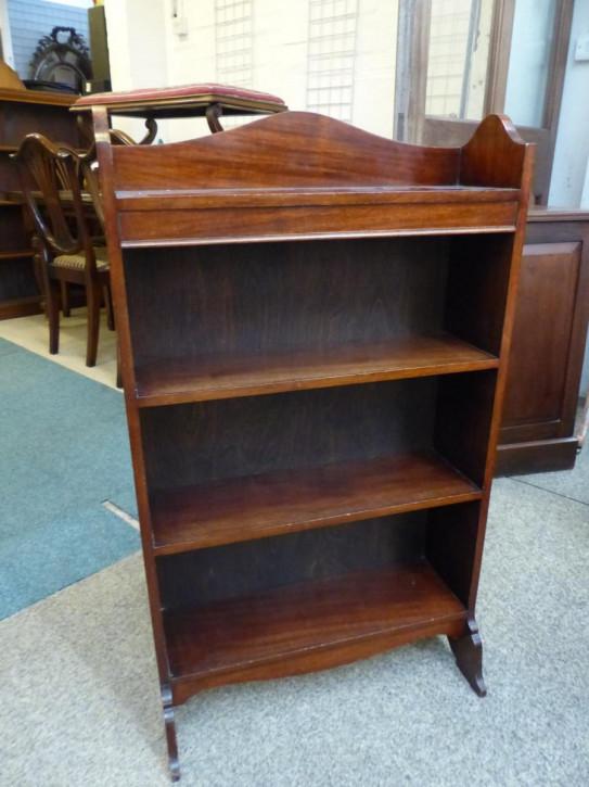 Antikes Bücherregal Mahagoni englisch ca 1930