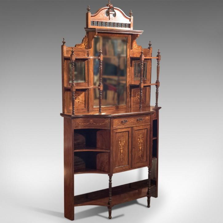 Antikes edwardianisches Palisander Sideboard original englisch ca 1910