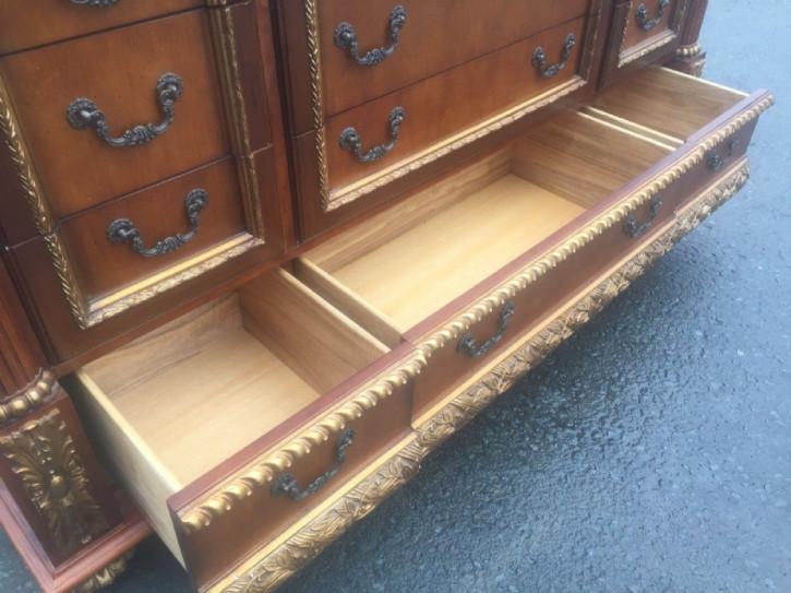 Chinesisches Hartholz Sideboard original antik 1920