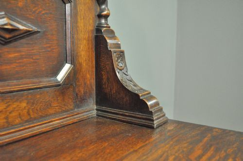 Antikes englisches Eichen Sideboard ca 1920