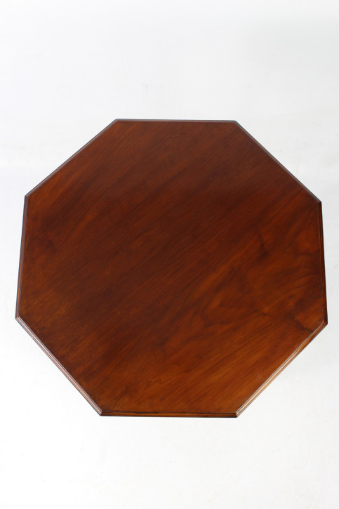 Viktorianischer Arts & crafts octagonal side table