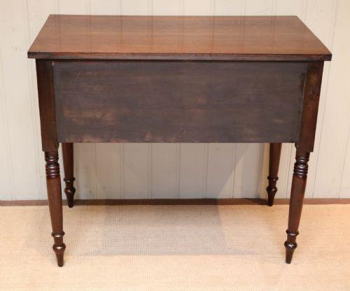 Antiker englischer Schreibtisch Eiche ca 1840