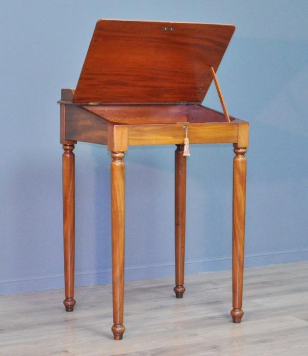 Viktorianischer Mahagoni Schreibtisch antik ca 1880