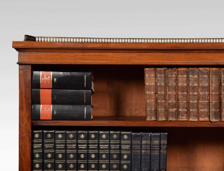 Antiker britischer Bücherschrank Mahagoni 19. Jh
