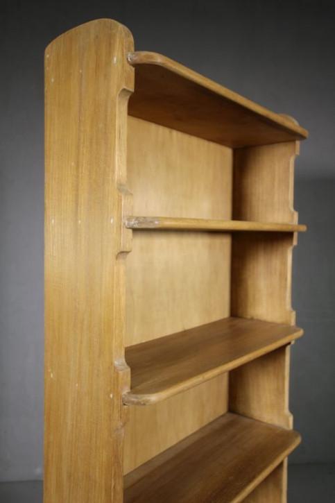 Edwardianisches antikes Nussbaum Bücherregal britisch ca 1900
